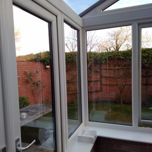Anthracite Grey Conservatory Built at Customers Home