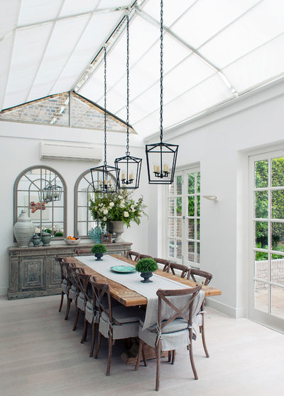 Country Conservatory by Claire Bloom Interiors