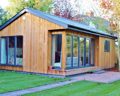 Contemporary Granny Annex Home Design Ideas Photos
