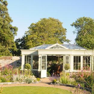 Freestanding Orangery in Pretty Garden