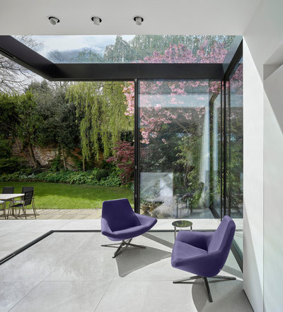 Contemporary Conservatory by Scott Donald Architecture