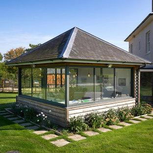 Garden Room Pod and Studio - Contemporary Georgian House