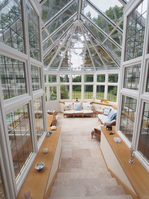 Large victorian sunroom design ideas remodels photos for Victorian sunroom designs