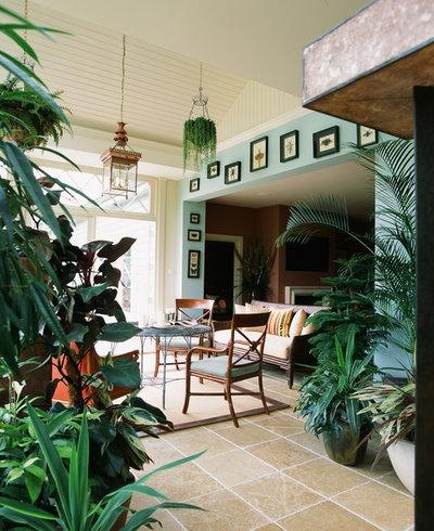 Mediterranean Sunroom by Westbury Garden Rooms