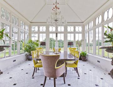Impressive Dining Conservatory