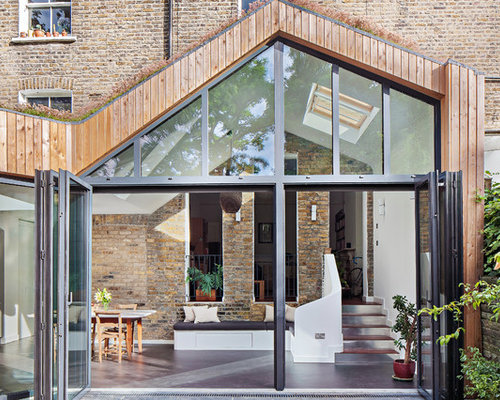 Moderner wintergarten in london ideen design bilder houzz - Moderner wintergarten ...