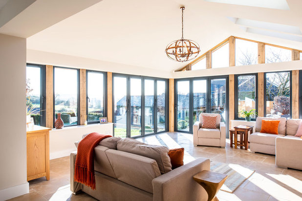Contemporary Conservatory by Hawk Kitchens and Bathrooms