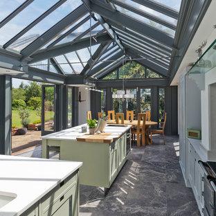 Large Kitchen Conservatory