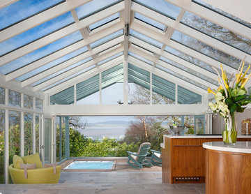 Luxury Conservatory Extension with Bar & Hot Tub
