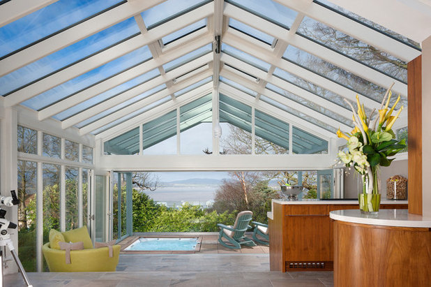 Contemporary Sunroom by Mozolowski & Murray