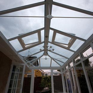 Modern contemporary conservatory