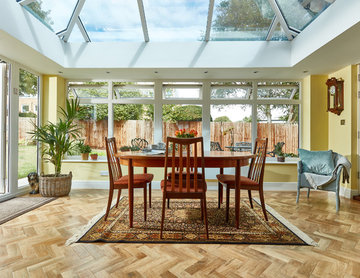 Modern orangery in Hampshire