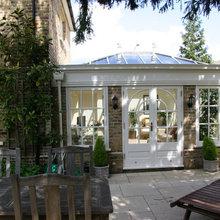 Contemporary refurbishment of townhouse in Barnes