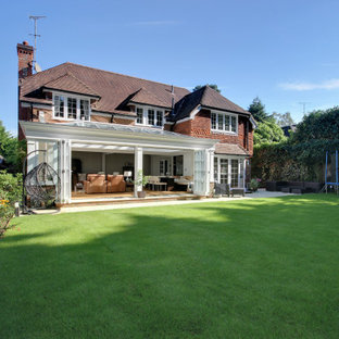 Orangery extension for open plan kitchen, dining and lounge