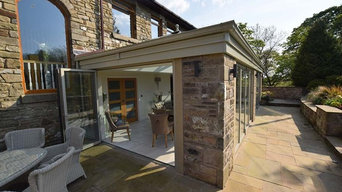Orangery with Kitchen Extension