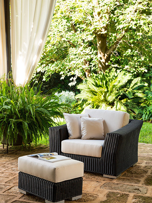 point green garden armchair outdoor lounge chairs - Outdoor Lounge Vis A Vis