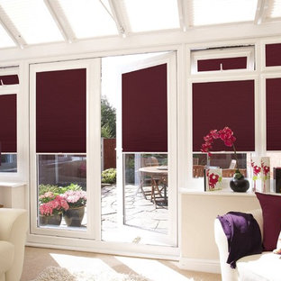 Purple Pleated Perfect Fit Window Blinds