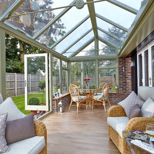 Elegant sunroom photo in Other