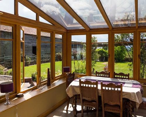 Rustic West Midlands Sunroom Design Ideas Remodels Photos