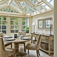 Traditional Sunroom by Sims Hilditch