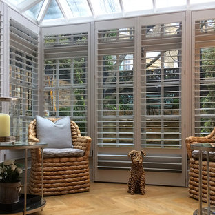 Stunning Conservatory Shutters And Just In Time For The Spring Sunshine Too