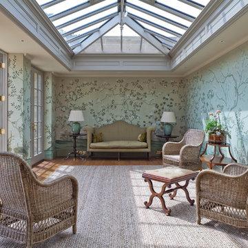 Stunning Twin Classical Orangeries - Sitting Room