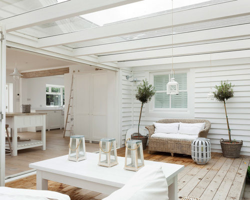 Design Ideas For A Coastal Conservatory In London.
