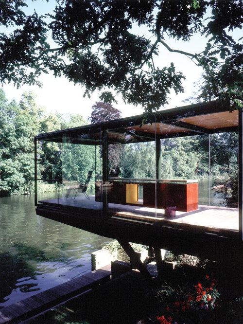 Foto e idee per verande veranda moderna for Idee di veranda laterale