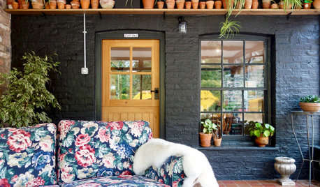 Room Tour: An Unused, Chilly Garden Room Gets a Homely Makeover