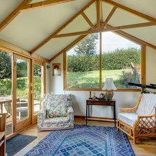 Farmhouse Sunroom by Colin Cadle Photography
