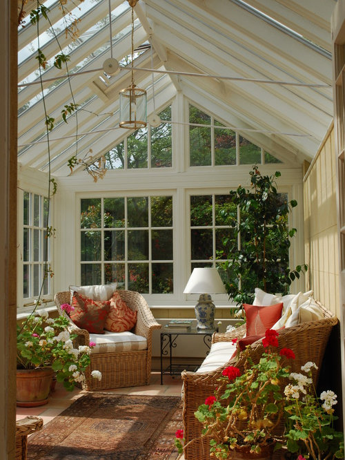 Garden room conservatory houzz for Sunroom garden room