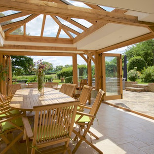 Traditional orangery - open living