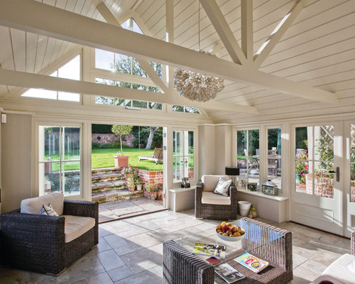29 roof truss sunroom design photos