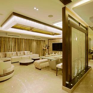 Свежая идея для дизайна: коридор в восточном стиле - отличное фото интерьера