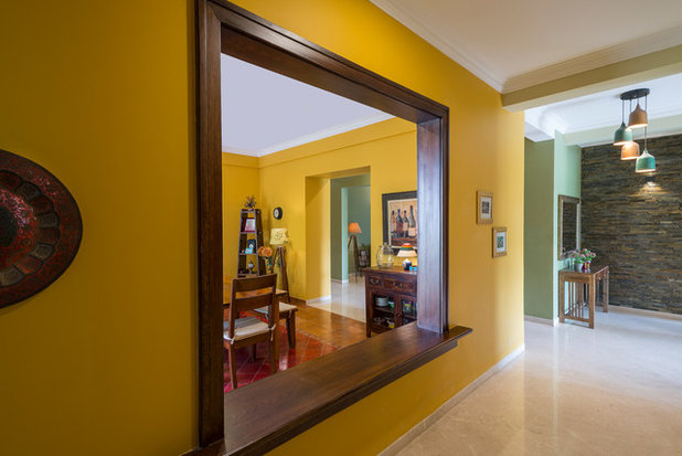 Eclectic Corridor by Shefali Singh, Architect