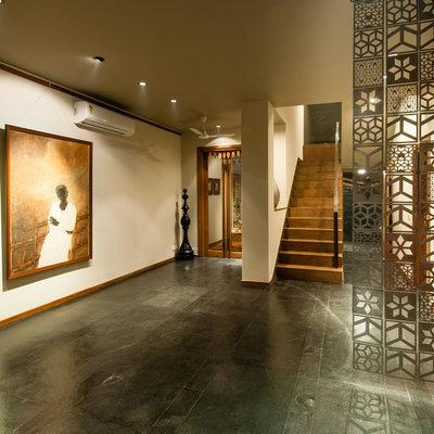 Contemporary Corridor by Chromed Design Studio