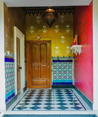 Eclectic Corridor by Shan Bhatnagar Designs