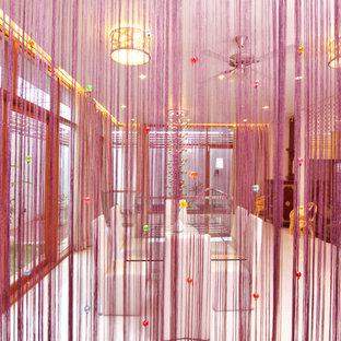 Выдающиеся фото от архитекторов и дизайнеров интерьера: коридор в восточном стиле