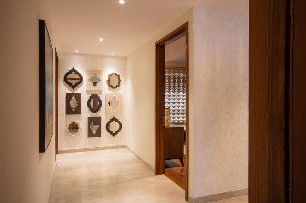 Contemporary Corridor by Morph Design Company
