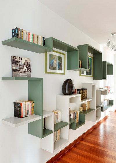 14 scaffali e mensole originali che vivacizzeranno le vostre stanze