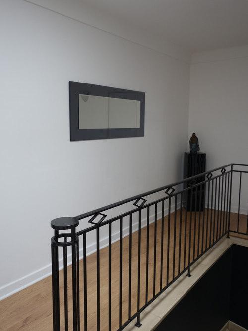 Aménagement d\'une cage d\'escalier et d\'un palier