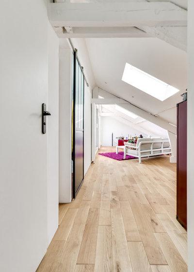Contemporain Couloir by tina merkes architecture