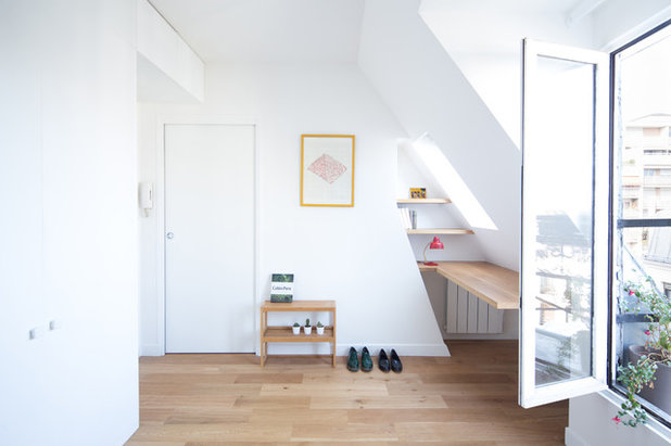 Scandinave Couloir by Agathe Marimbert architecte