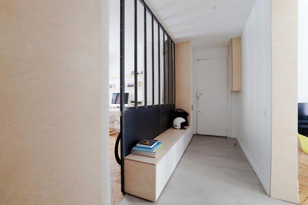 Contemporain Couloir by atelier daaa