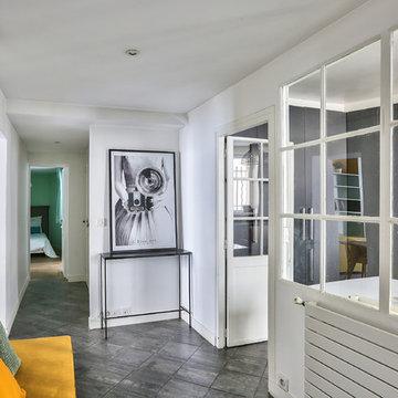 Appartement parisien d'inspiration scandinave