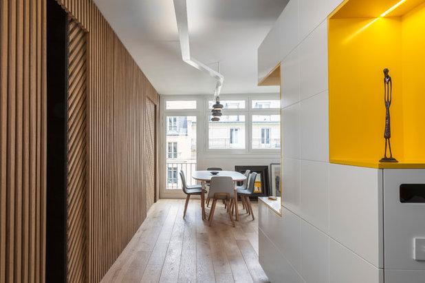 Contemporain Couloir by Agence Glenn Medioni