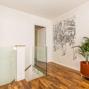 Création d'un duplex à Boulogne