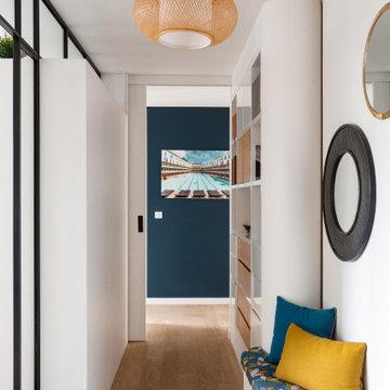 Décoration d'un appartement à Boulogne