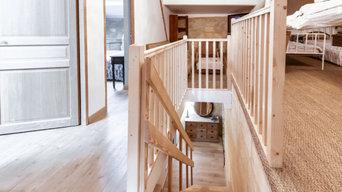 Escalier et garde corps sur mesure