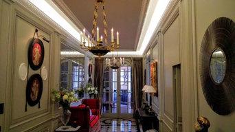 Incorporation d'un ruban de LED dans une pièce de style classique